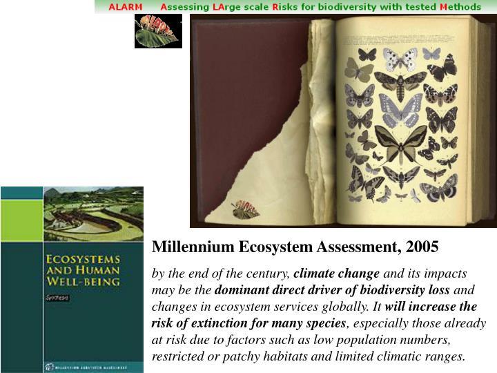 Millennium Ecosystem Assessment, 2005