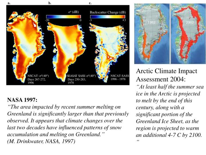 Arctic Climate Impact Assessment 2004: