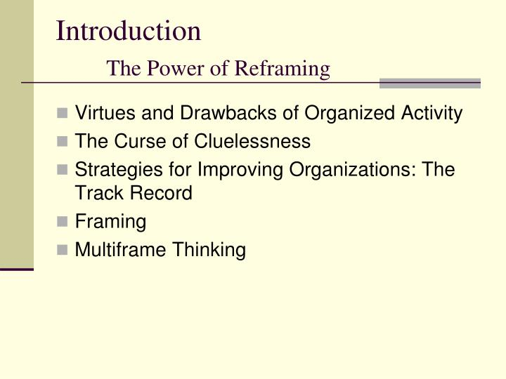 reframing organizations 6th edition pdf