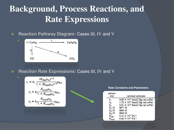 Ppt reactor design project synthesis of maleic anhydride for Design of oxidation pond ppt