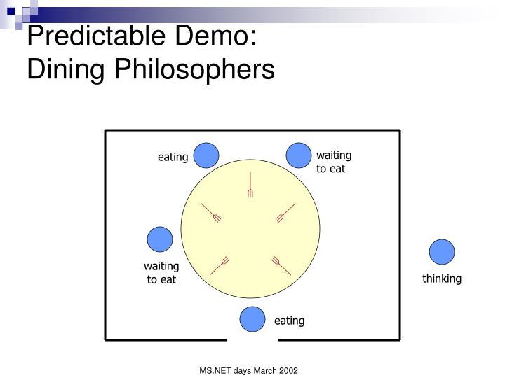 Predictable Demo: