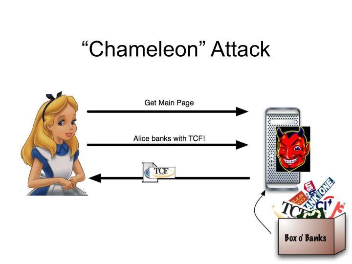 """""""Chameleon"""" Attack"""