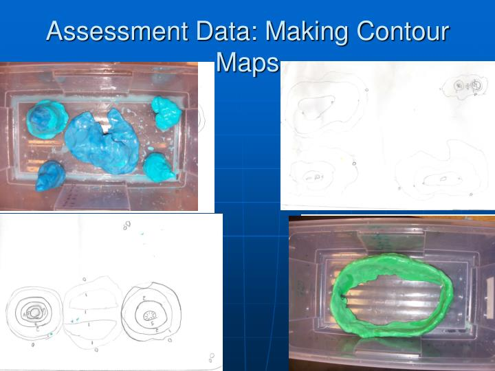 Assessment Data: Making Contour Maps