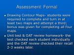 assessment formal