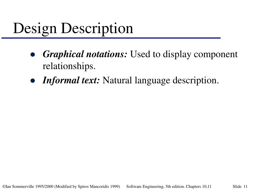 Design Description