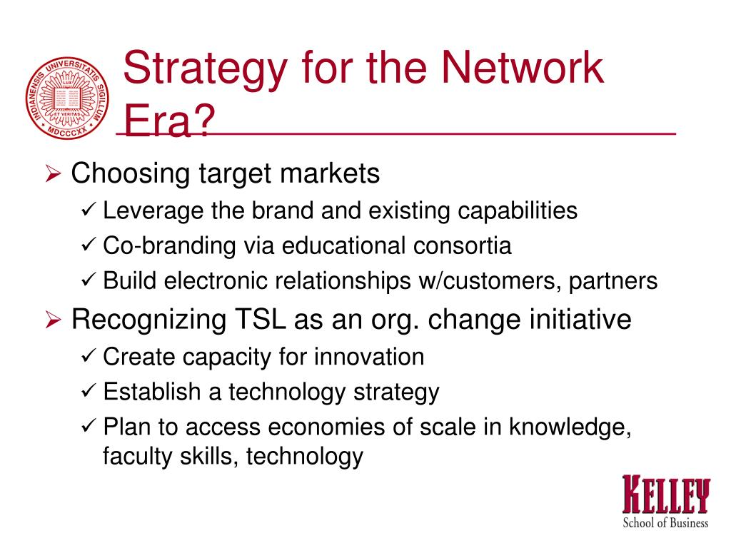 Strategy for the Network Era?