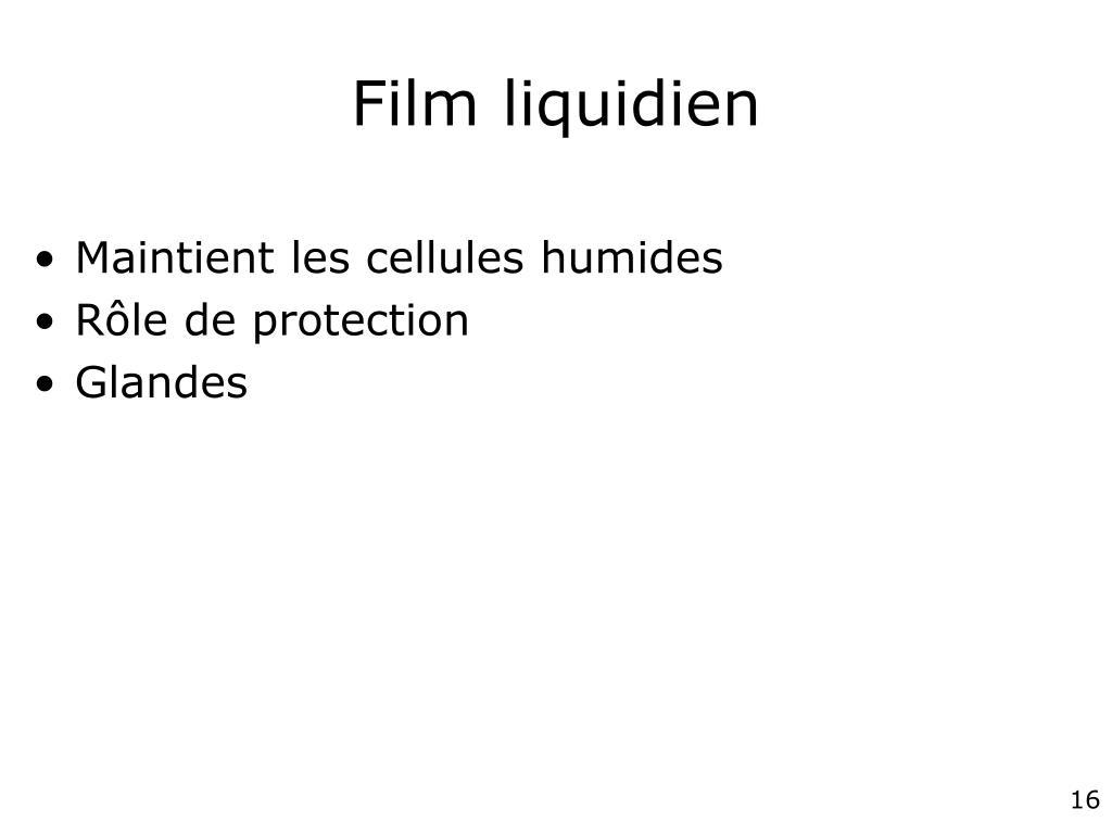 Film liquidien
