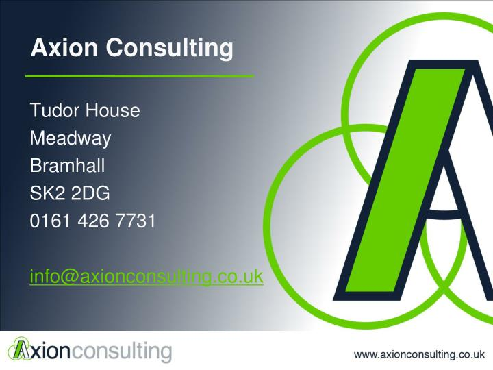 Axion Consulting