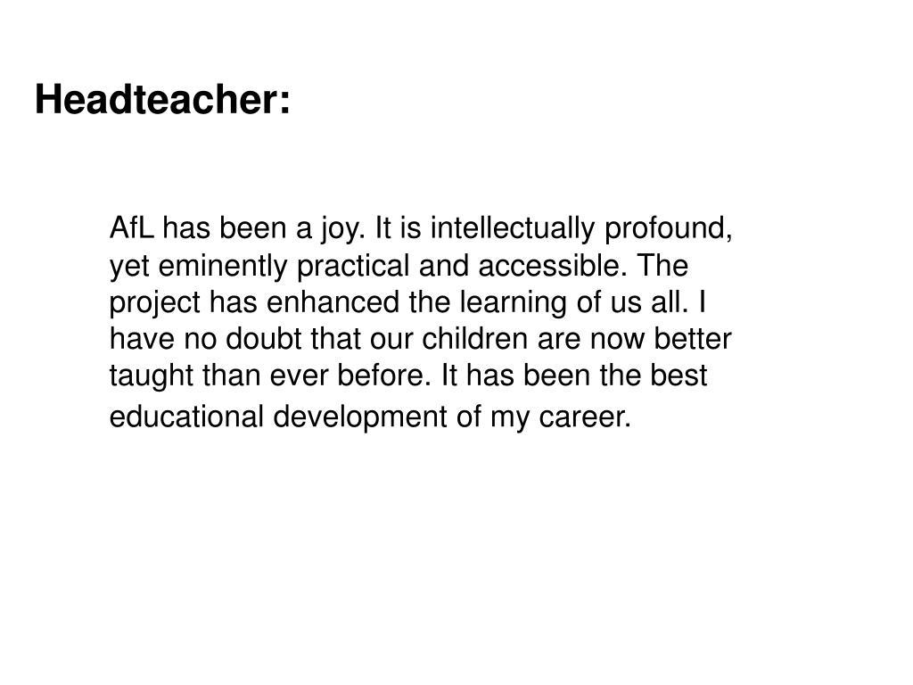 Headteacher: