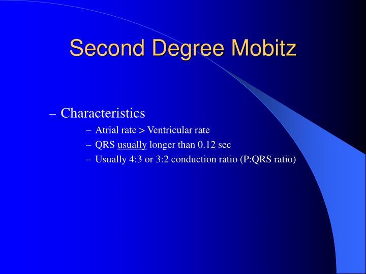 Second Degree Mobitz
