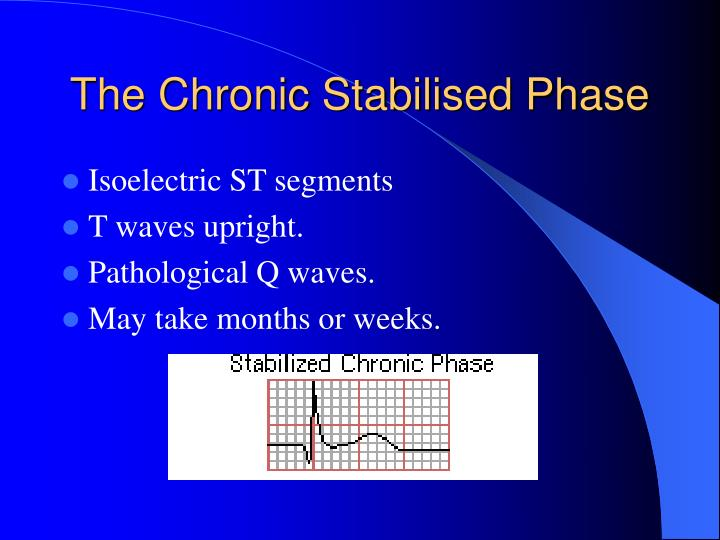 The Chronic Stabilised Phase
