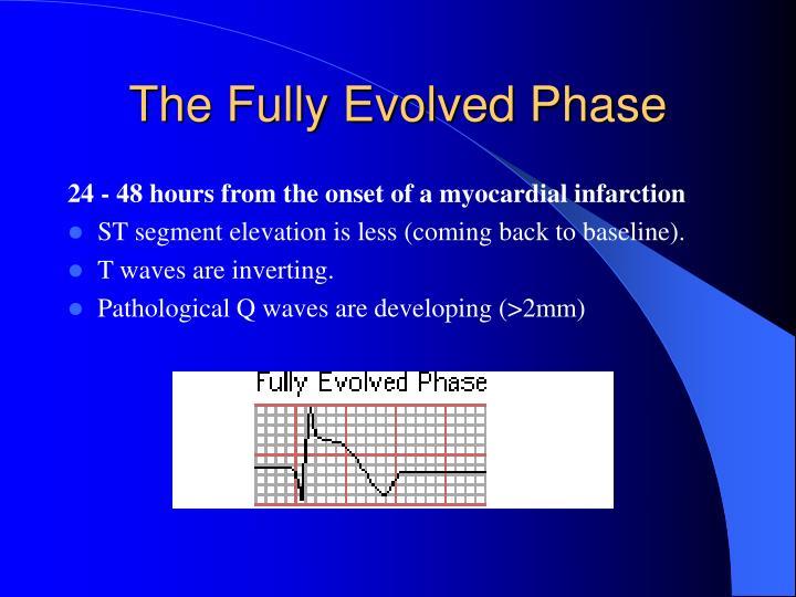 The Fully Evolved Phase