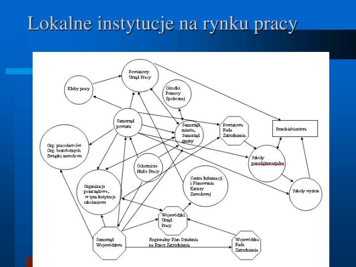 Lokalne instytucje na rynku pracy