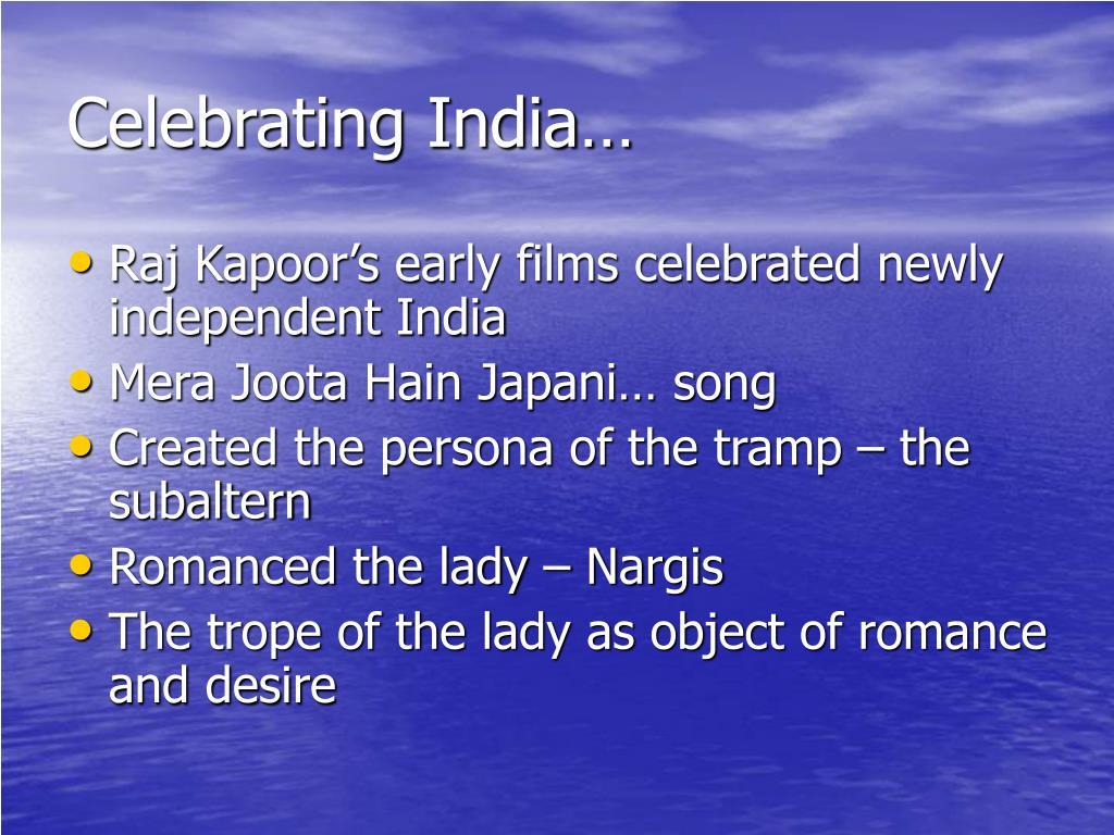 Celebrating India…