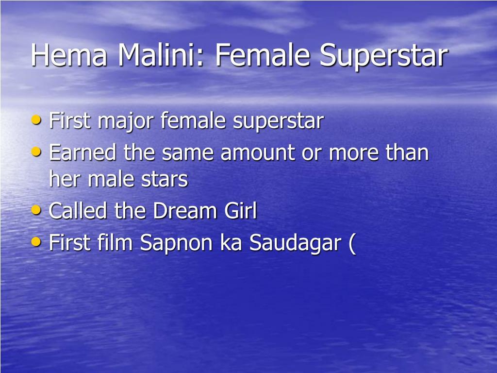 Hema Malini: Female Superstar