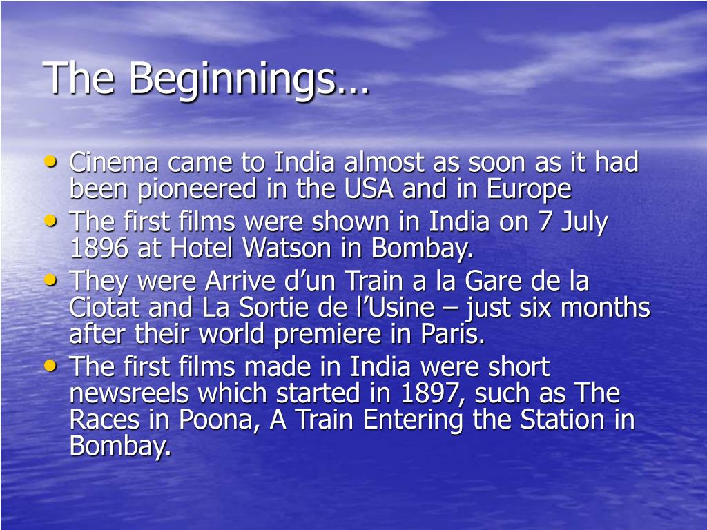 The Beginnings…