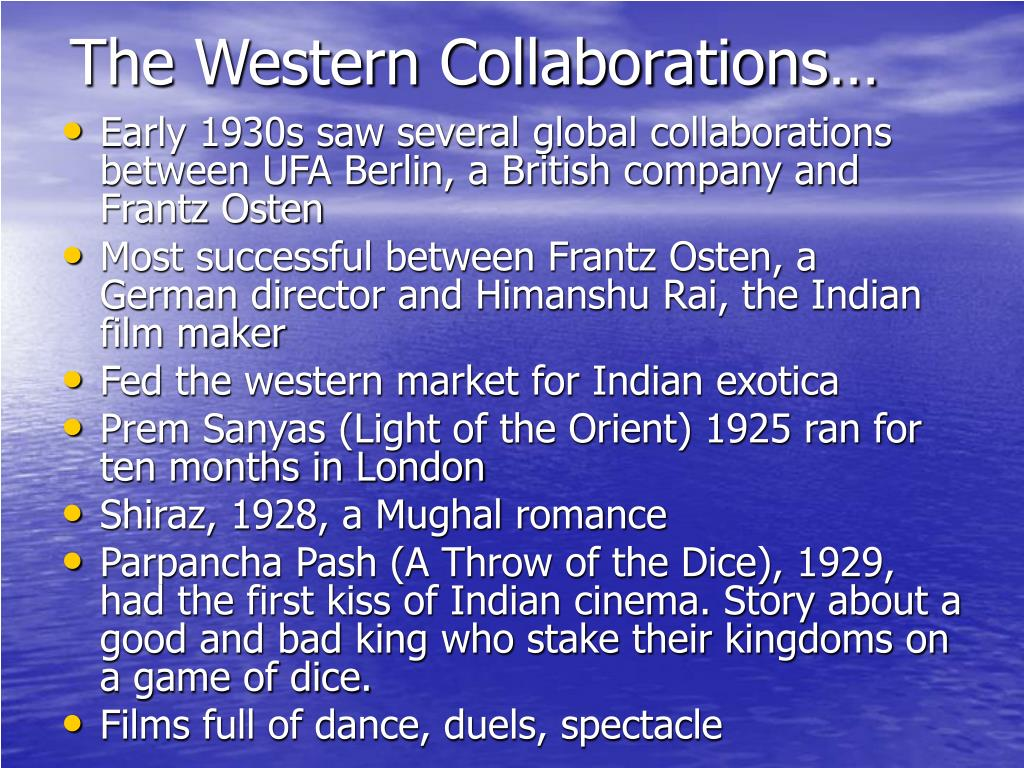 The Western Collaborations…