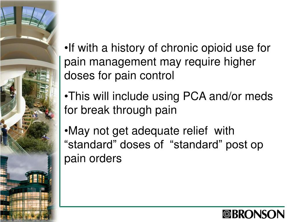 Ppt Managing Pain In The Surgical Patient Powerpoint
