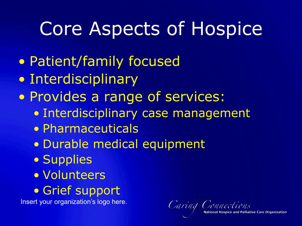 Core Aspects of Hospice