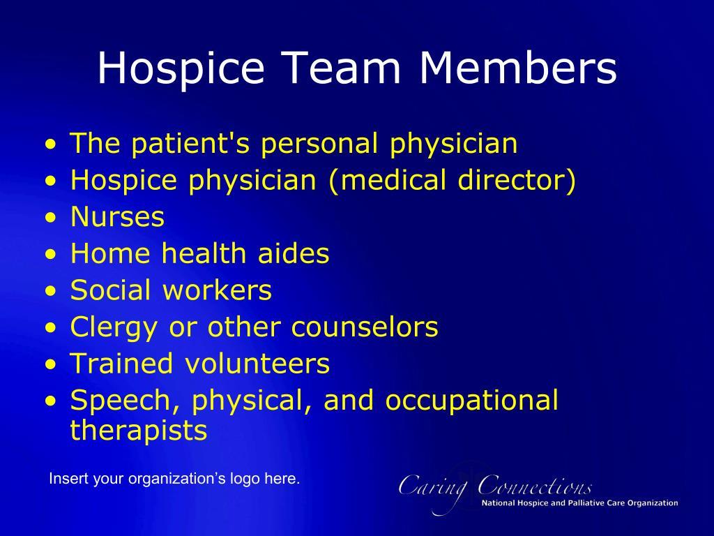 Hospice Team Members
