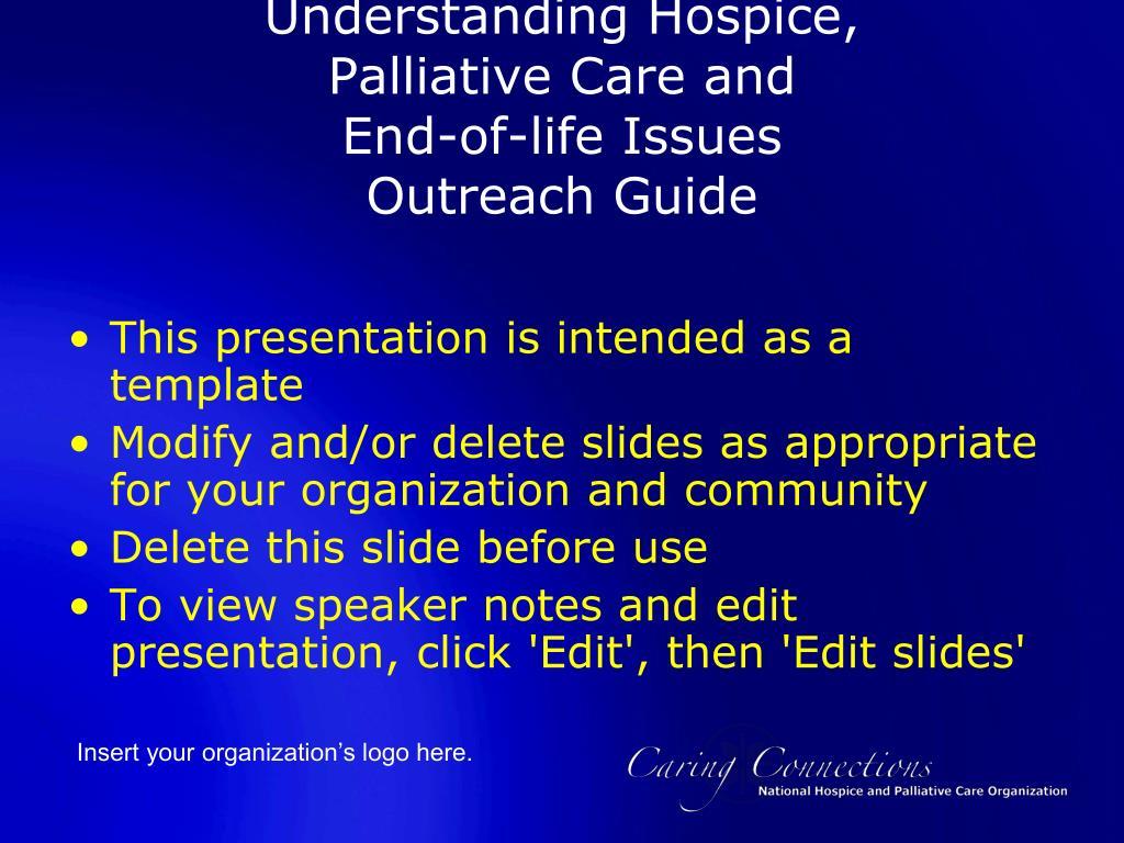 Understanding Hospice,