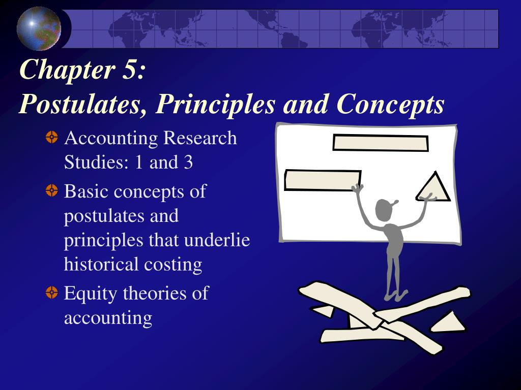chapter 5 postulates principles and concepts