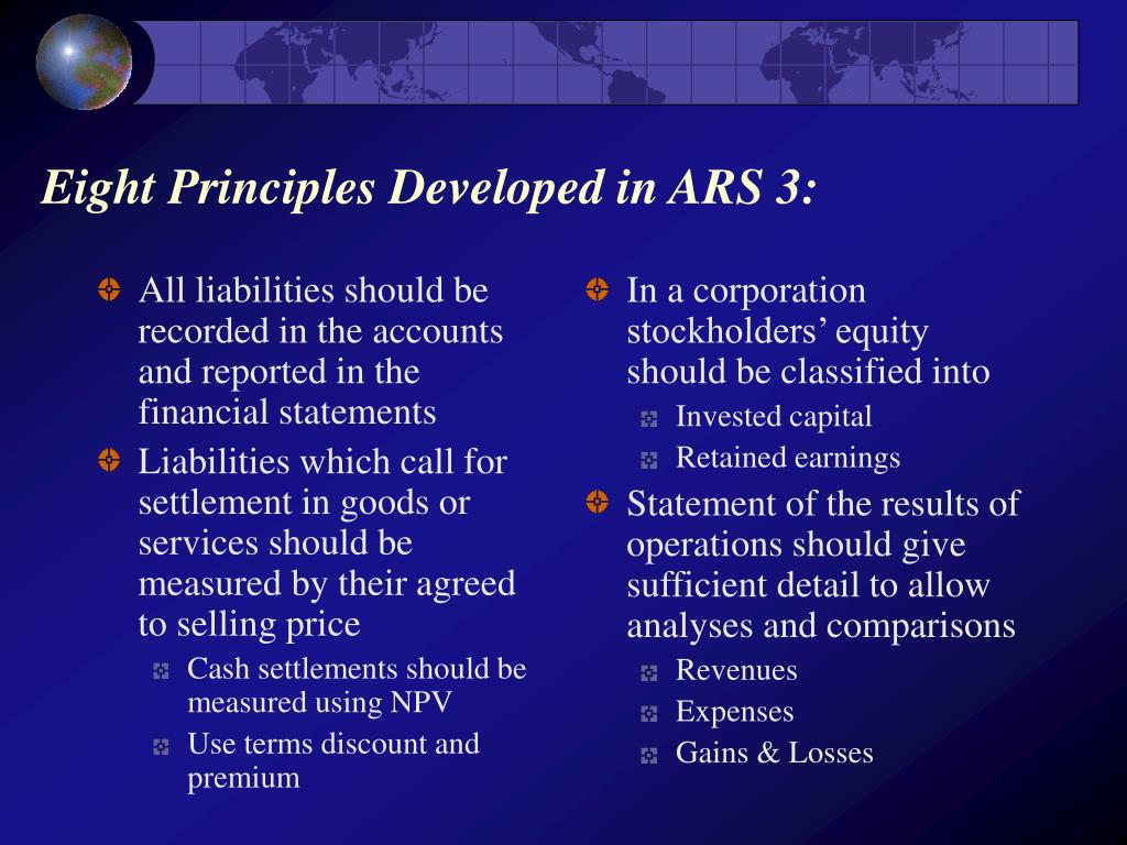 All liabilities should be recorded in the accounts and reported in the financial statements