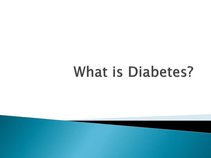 What is diabetes l.jpg