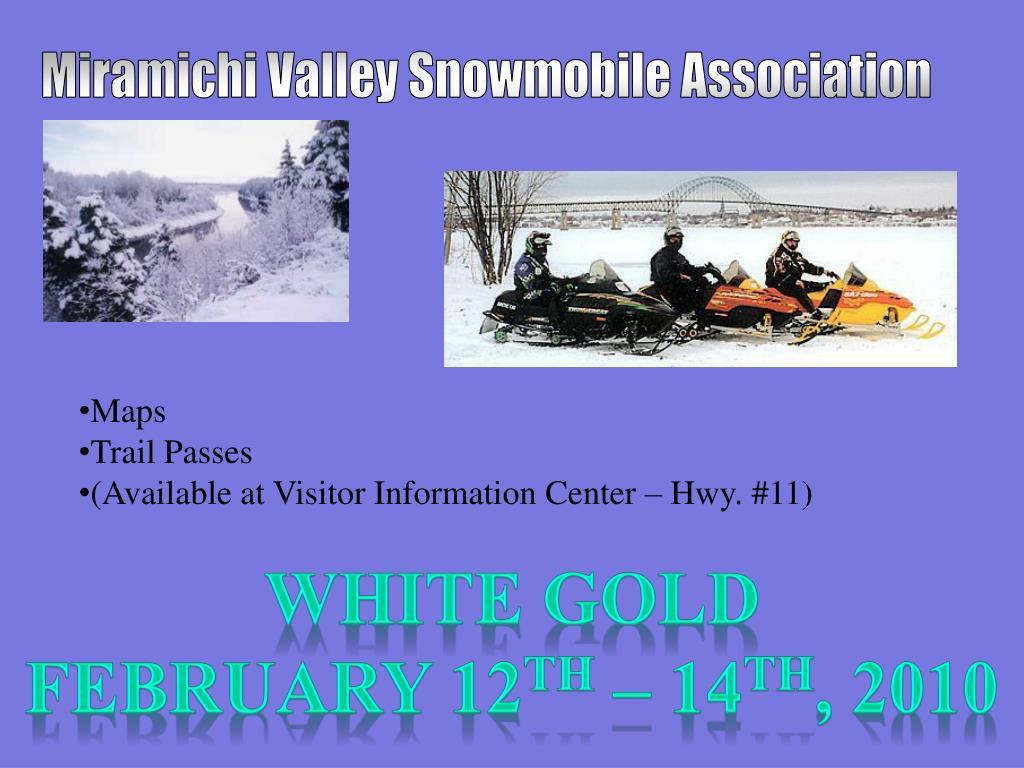 Miramichi Valley Snowmobile Association