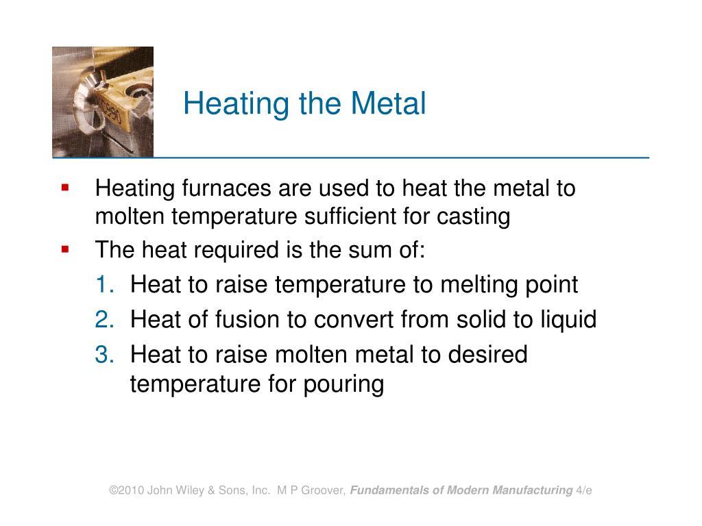 Heating the Metal