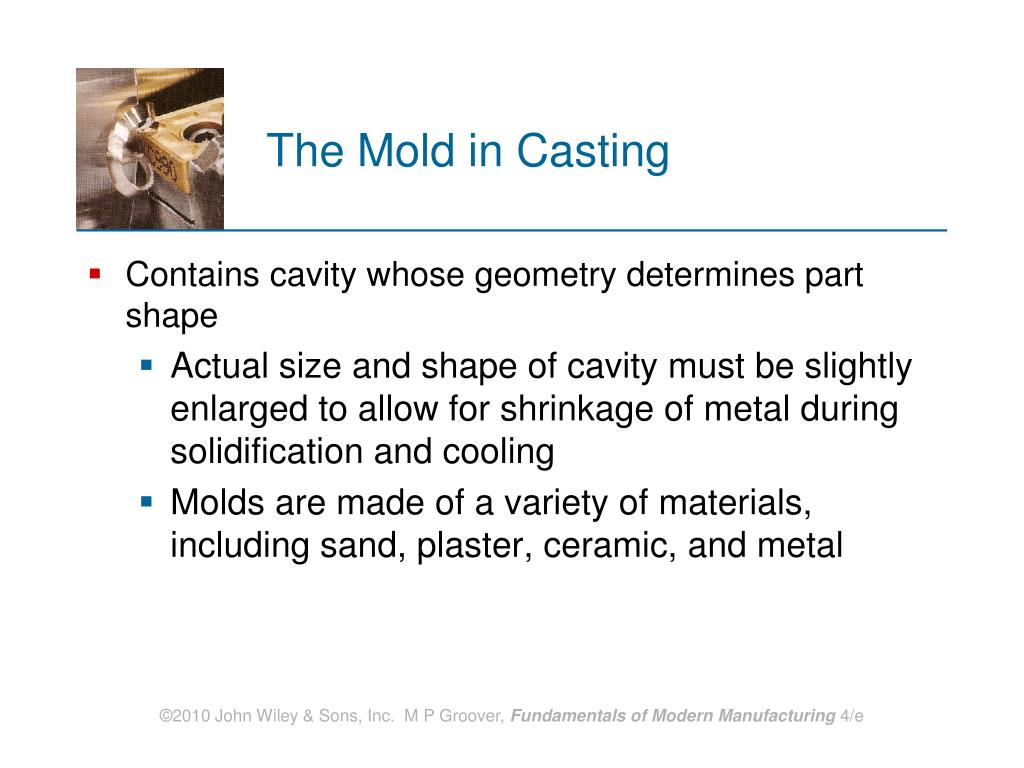 The Mold in Casting