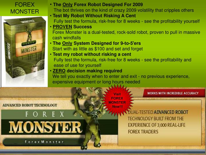 FOREX MONSTER