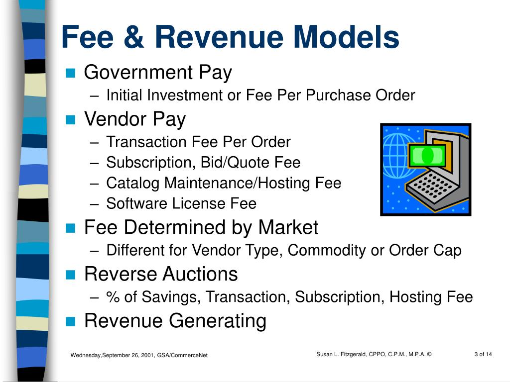 Fee & Revenue Models