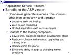 applications service providers