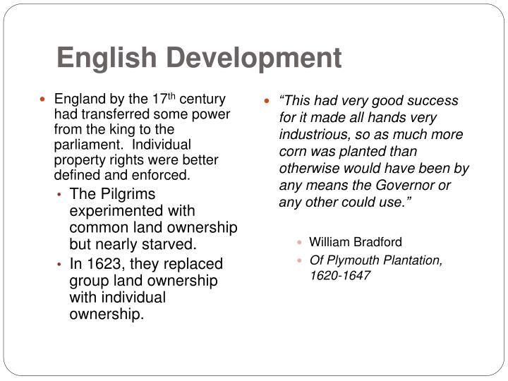 English Development