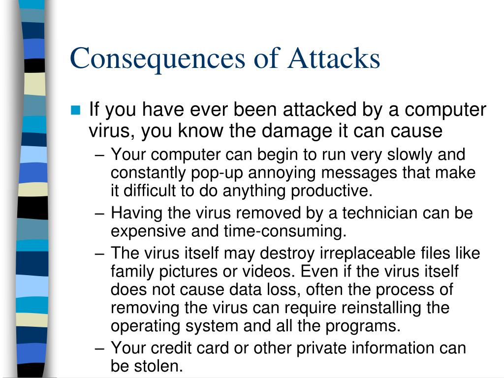 Consequences of Attacks
