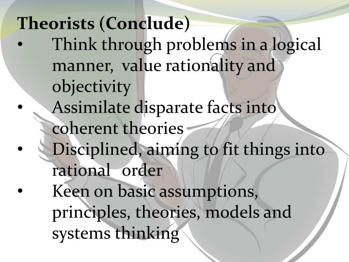 Theorists (Conclude)