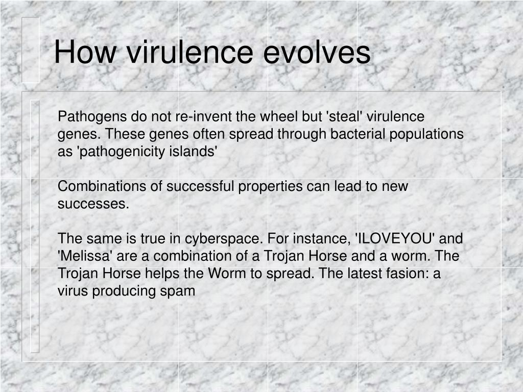 How virulence evolves