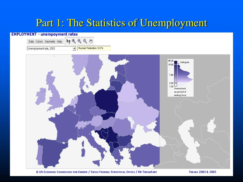 Part 1: The Statistics of Unemployment