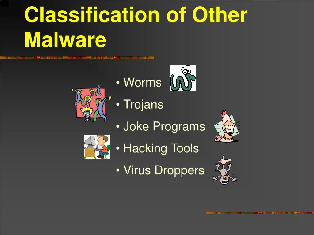 Classification of Other Malware