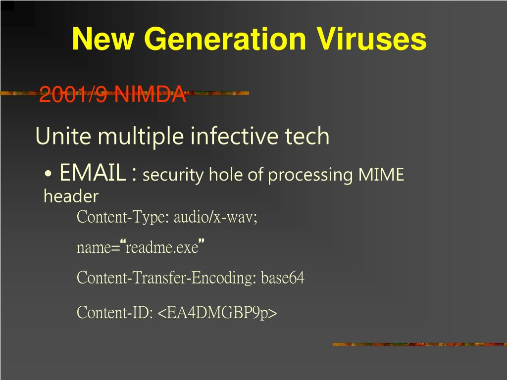 New Generation Viruses