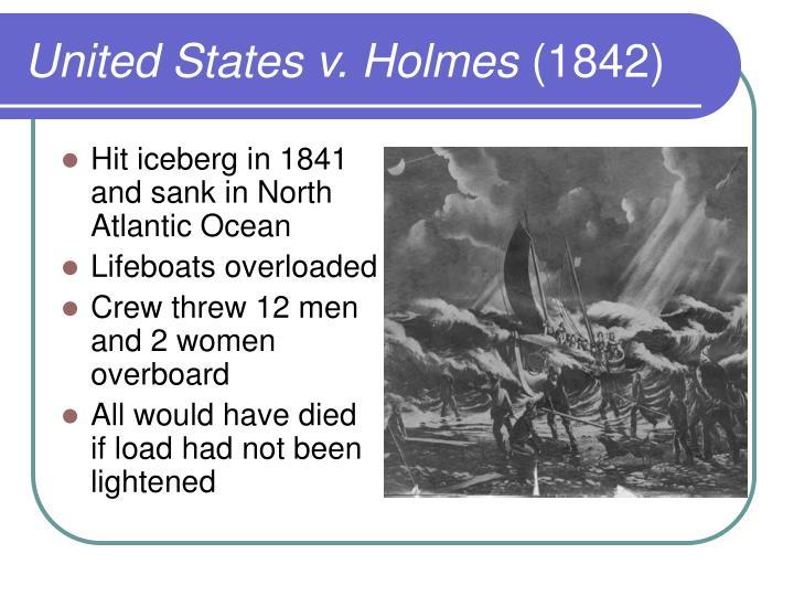 United States v. Holmes