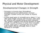 physical and motor development11