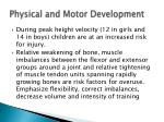 physical and motor development3