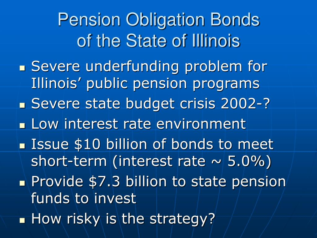 Pension Obligation Bonds