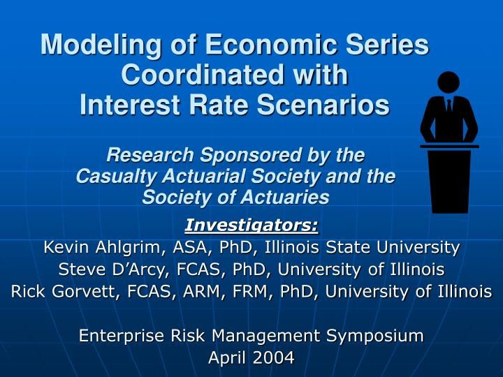 Modeling of Economic Series Coordinated with