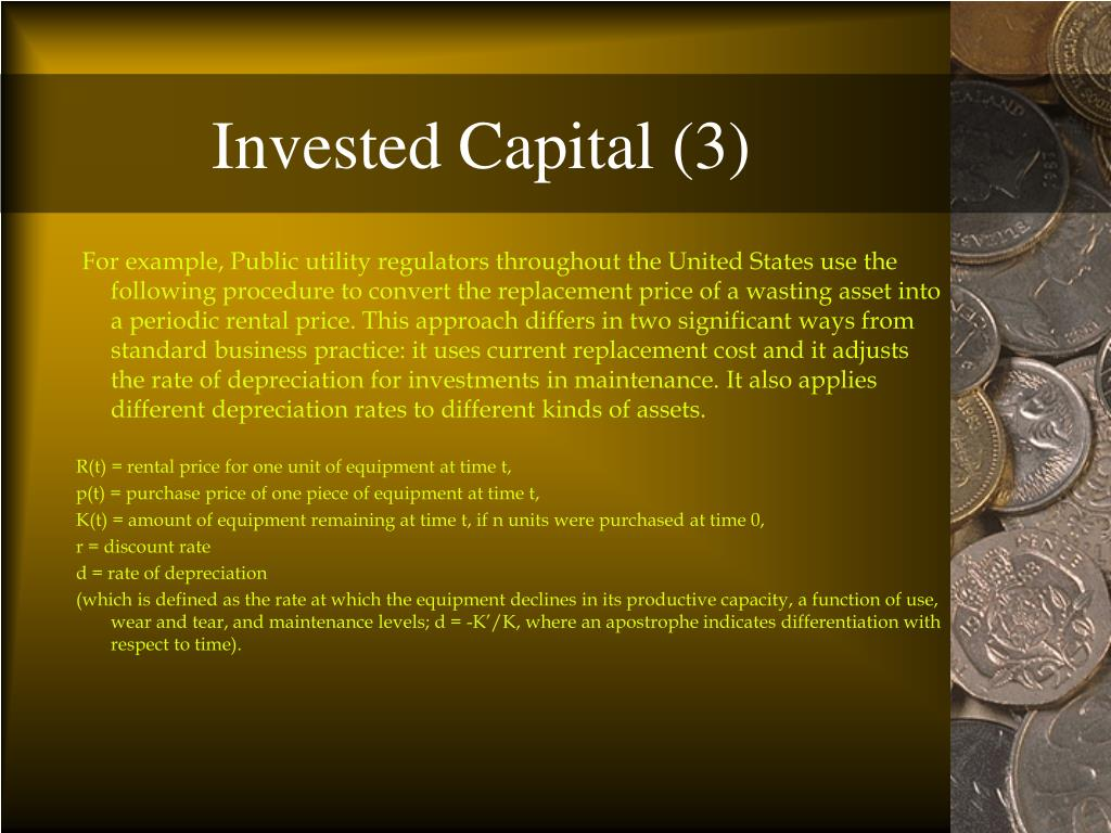 Invested Capital (3)