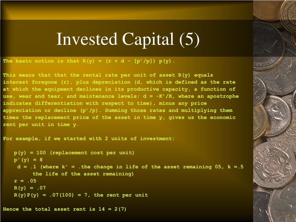 Invested Capital (5)