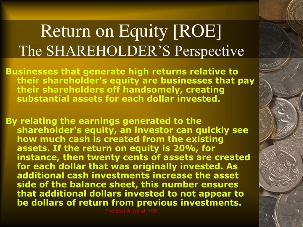 Return on Equity [ROE]