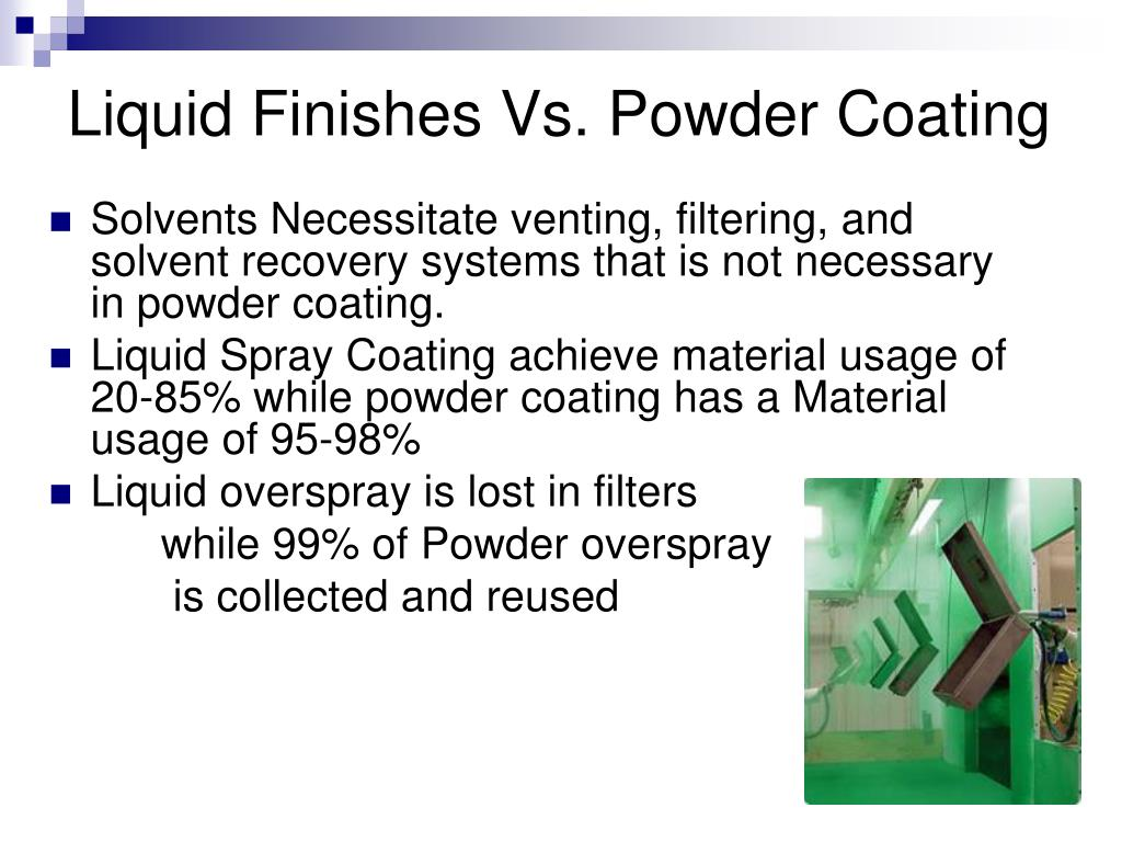 Ppt Powder Coating Powerpoint Presentation Id 481680